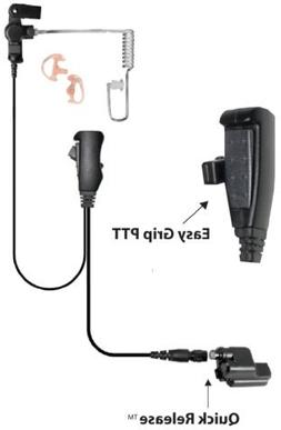 Ear Phone Connection EP1334QR Tactical Police Lapel Headset