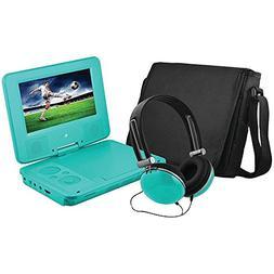 "EMATIC EPD707TL 7"""" Portable DVD Player Bundles  electronic"