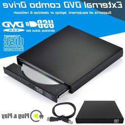 New External CD RW Drive USB 2.0 Rom CD Writer Player For Ne
