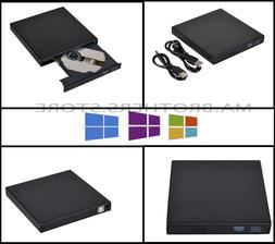 External Portable DVD Combo Player Rom CD-RW Burner Drive US