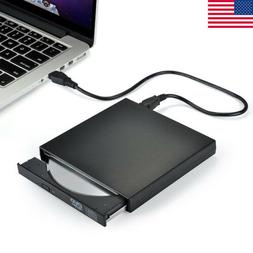 External Portable DVD Combo Player CD-RW Burner Drive USB 2