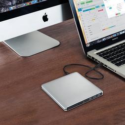 "External Portable USB Floppy Drive 3.5"" Disk Reader For Wi"