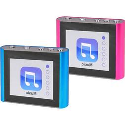 "Eclipse Fit Clip Plus 8GB 1.8"" LCD MP3 Digital Music Video P"