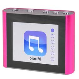 ECLIPSE FIT CLIP PLUS 8GB MP3 + VIDEO PLAYER PINK NEW