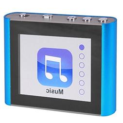 Fit Clip Plus 8GB MP3 + Video Player Blue