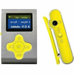 "Eclipse Fit Clip SL/YW 4GB 1"" MP3 Player"