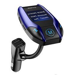 FM Transmitter, Otium Wireless Bluetooth Car Adapter Radio A