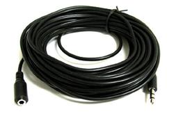 ANiceS 25FT 25' FT 3.5mm Audio Stereo Headphone Male to Fema