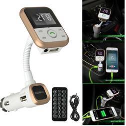 Bluetooth Car Kit Handsfree FM Transmitter Radio MP3 Player