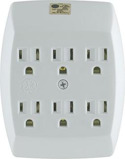 GE Grounded 6-Outlet Tap