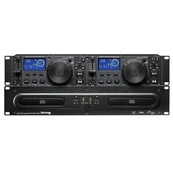 Gemini CDX-2250i Rack Mount DJ Pro Audio Dual Multimedia CD