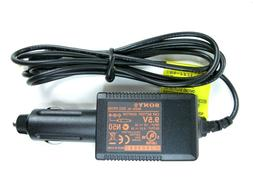 Genuine SONY 9.5V Car Battery Adapter DCC-FX150 for Portable