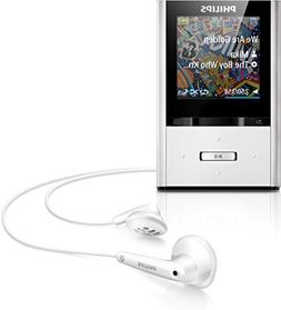 Philips GoGear Vibe 8GB MP3 Player - Aluminum