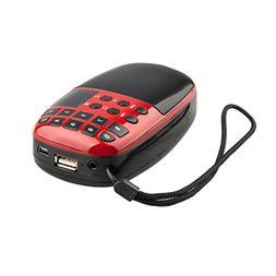 Gotd Mini Speaker Micro SD/TF Card U Disk Speaker FM Radio D