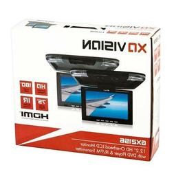 XO Vision GX2156B 12.2-Inch Wide Screen Overhead Monitor wit