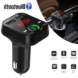 EastVita Hands Free Car Kit Wireless Bluetooth FM Transmitte