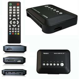 HD 1080P USB Hard Drive Upscaling Multi Media Player MKV AVI