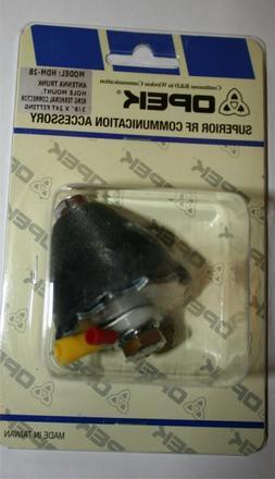 """OPEK HDM-2B 3//8/"""" x 24  Gum Drop Thru Body Antenna Mount Hamsticks Firesticks HD"""