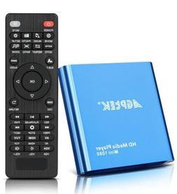 HDMI Media Player, Blue Mini 1080p Full-HD Ultra Digital For