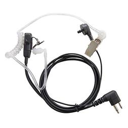 HQRP 2-Pin HeadSet with Earpiece & Microphone for Motorola R