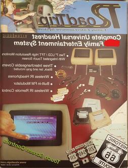 "Vizualogic Headrest Touchscreen 7"" Monitors - Universal Inpu"