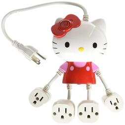 Hello Kitty Molded 4-Outlet Power Strip