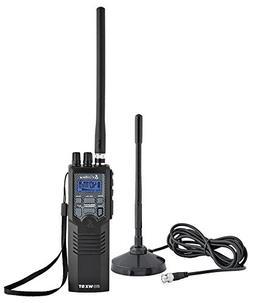 COBRA HHRT50 HANDHELD CB RADIO WITH NOAA WEATHER & INCLUDED
