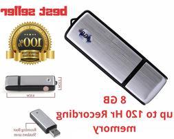 Hidden Voice Active Recorder USB Audio Secret 120Hr record L