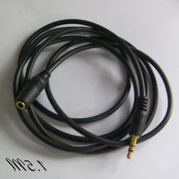 High Quality 3.5mm Male to Female Headphone AUX Audio Cable
