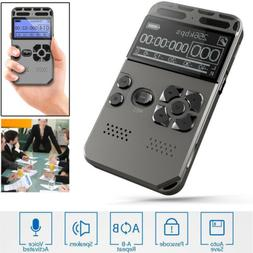 High Quality 64GB LCD Digital Audio Sound Voice Recorder Dic