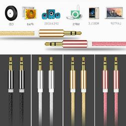 High Quality AUX Cable 3.5mm Male to Male Cable for Car AUX/
