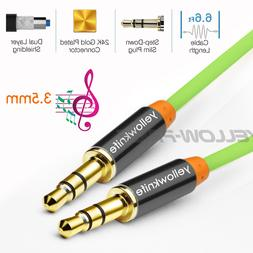 High Quality AUX Cord 3.5mm male to male Cable for Car AUX/H