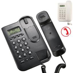 Home Desk Corded Wall Mount Landline Phone Telephone Handset