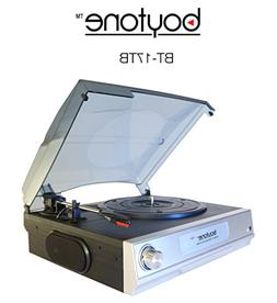 boytone Home Turntable System BT-17TB - Belt Drive - 33.3, 4