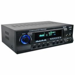 Pyle Hybrid Amplifier Receiver - Home Theater Amp Stereo, 30