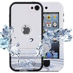iPod 5 iPod 6 Waterproof Case, ComsooniPod Touch Defender Ca
