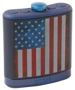 IHOME iBT12AMFLXC Rechargeable Flask-Shaped Bluetooth  Stere