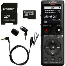 Sony ICD-UX570 Digital Voice Recorder  + Olympus ME-52W Mic