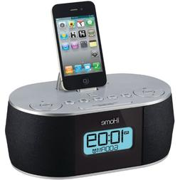 iHome ID38SV App Enhanced Stereo System with Dual Alarm FM C
