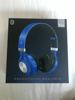 iLive Adjustable Bluetooth Headphones, Blue