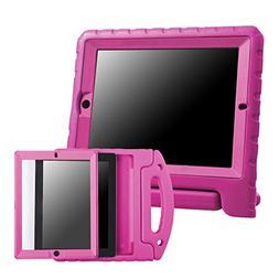 HDE iPad 2 3 4 Bumper Case for Kids Shockproof Hard Cover Ha