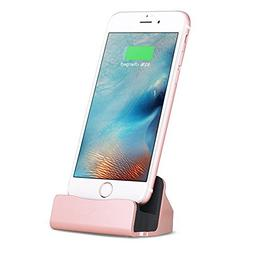 iPhone Charger Dock,Red Gem Charge and Sync Stand for iPod,i