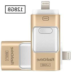 iPhone 128GB USB Flash Drive Portable Pen-Drive Memory Stora