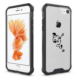 For iPhone X 6 6s 7 8 Plus Clear Shockproof Bumper Case Cove