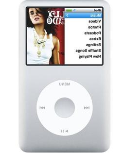 Apple Ipod Classic 160Gb - Silver - 6Th Generation