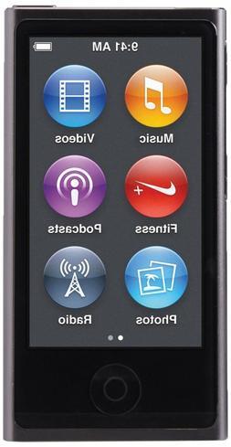 Apple iPod nano 16GB 8th Generation Space Gray MP3 Player MK