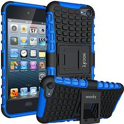 ykooe iPod Touch 5 Case,Touch 6 Case, Heavy Duty Protective