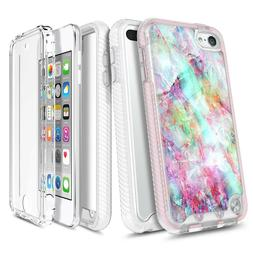For iPod Touch 5th 6th 7th Gen Case Slim Thin Cover + Built-
