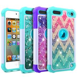 For iPod Touch 5th 6th 7th Gen Case Bling Soft Rubber Diamon