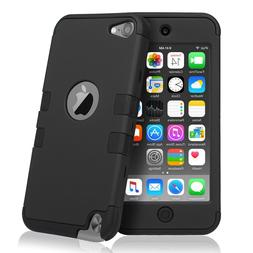 For iPod Touch 5th & 6th Gen - HYBRID HIGH IMPACT ARMOR CASE